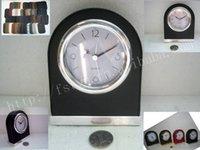 alarm clock beep - Alarm Clock Factory Outlet Auto Lighting DIY alarm beeps Silent Alarm clock Alarm Creative Leather