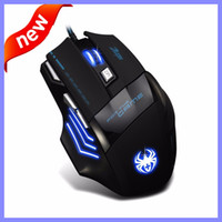 Wholesale 2016 New Original Brand DPI Professional Gaming Mouse For the Game USB Wired Game Mouse For PC Computer Desktop Laptop