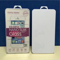 Cheap Only retail package box bag For Tempered Glass Screen Protector Film iPhone 6 Plus 5 5S 5C 4S 4 Samsung Sony Blackberry Motorola Lenovo ZTE