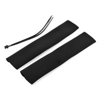 Wholesale new Black Motorcycle Neoprene Fork Gaiter forks Seal Socks Covers Saver Protector protect Cable