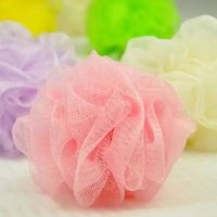 Wholesale SMILE MARKET Nylon Can hang Lace Bath balls Bath Brushes