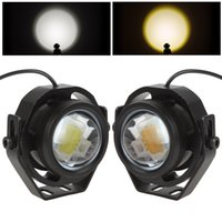 Wholesale 2 Inch V V LM W LED Eagle Eye Car Fog Daytime Running Reverse Backup Parking Signal Light Lamp CLT_428