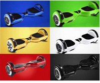 balance bicycle wheel - 6 inch Self Balancing Electric Scooter Smart Balance Wheel Two Wheels Bicycle Smart Scooter Electric Scooters E Chariot