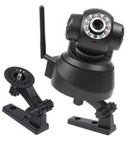 Wholesale IP Cameras Night Vision IR Web Camera WiFi Wireless IP Camera white black color PAb