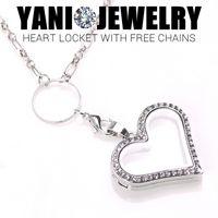 Cheap Heart Locket Best Magnetic Floating Heart Locket