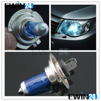 Wholesale New Auto Car Front Head Light Headlight Blue Glass H7 V W Lamp Factory Price