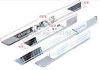 auto threshold - Skoda Rapid stainless steel ultrathin door sill scuff plate threshold decoration trim auto accessories M18922