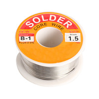 Wholesale New Tin Lead Tin Wire Melt Rosin Core Solder Soldering Wire Roll mm high quality