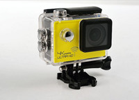 Wholesale 2016 Black Limited Sale Yellow Silver Red Coyote th Generation Sj8000 Motion Camera p Hd Waterproof Dv Fpv Aerial Sports Wifi Version