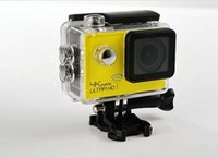 Wholesale 2016 Special Offer Sale Yellow Silver Red Coyote th Generation Sj8000 Motion Camera p Hd Waterproof Dv Fpv Aerial Sports Wifi Version