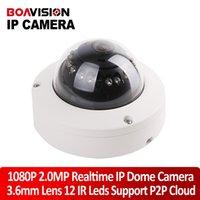 waterproof cctv wire camera - Super Mini dome IP Camera Megapixel HD Network CCTV Camera P outddor Securiy ir cut onvif p2p support Phone Android IOS vie