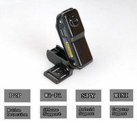 Wholesale WiFi spy camera Mini DV Wireless IP Camera Hidden camcorder Video Recorder mini DV NEW MD81 MD81S
