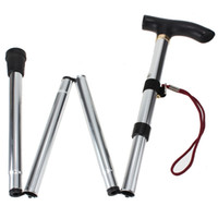 Wholesale Strong Outdoor Adjustable Folding Lightweight Trekking Poles Hiking Pole Walking Stick Cane Handle Bastones Senderismo