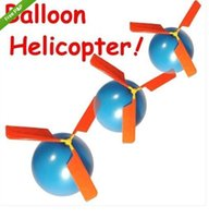 Wholesale 4000set Balloon Helicopter PARTY BAG FILLERS Novelty Birthday kids Fun HELICOPTERS