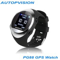antenna for mobile - New Real time GPS tracker PG88 watch with SOS SIM GSM GPRS Tracking Anti lost device sync mobile phone for kids old man