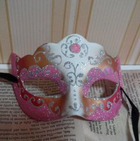 Wholesale Sexy Mask For Carnival - On Sale Party masks Venetian masquerade Mask Halloween Mask Sexy Carnival Dance party Mask cosplay fancy wedding gift free shipping