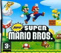 dsl game - 5pcs Classic game EU USA version New Super Mario Bros with English manual box for DS DSL DSI DS game system