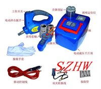 Wholesale Car hydraulic jack with LED Light Electric wrench Max top heavy KG Min Max height MM N m Max torque NE T