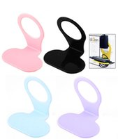 Wholesale F08424 Foldable Wall Charger Adapter Mobile Cell Phone Holder Charging Cradle freeship