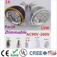 led bulb price - CREE High Quality LED Light PAR W W W x3w Spotlight E27 E14 GU10 v Cool White Warm White low price bulb