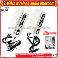 Wholesale GHz door intercom supporting wireless audio doorphone