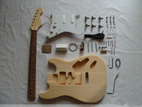 Wholesale Semi finished guitar kit ST suits basswood harp maple xylophone