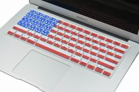 air canada usa - For Macbook Keyboard Cover UK Canada America National Flag Pattern Air Pro Pro Retian USA England Keyboard for iMac
