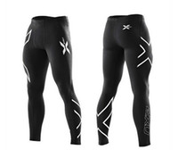Wholesale sports XU men and women s compression trousers jogging tight stretch pants marathon breathable sport trousers