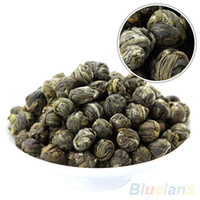 Wholesale 100g Chinese Organic Premium Jasmine Dragon Pearl Ball Natural Green Tea MZ1 PP4