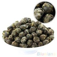 al por mayor perlas de té de jazmín orgánica-Bola de la perla 100g orgánico chino del dragón del jazmín de Premium Natural Green Tea 2MZ1 2PP4