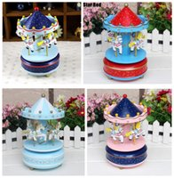 christmas music box - New Carousel Castle in the Sky Music Box Music Novelty Gifts For Birthday and Christmas