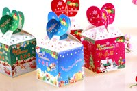 Wholesale Factory direct sales NEW Christmas gift boxes cm Christmas apple box baby surprise candy box Christmas Tree Decorations