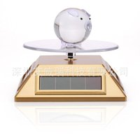 Wholesale Solar rotary stage light display jewelry exhibition display shelf No battery colors