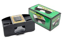 automatic deck shuffler - 60 Automatic Playing Cards Shuffler Poker Casino One Two Deck Card Shuffle Sorter
