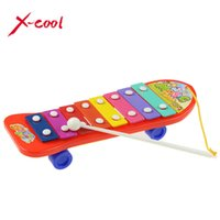 baby keyboard notes - Colorful Hand Knock Piano Note Xylophone Wisdom Smart Clever Development Musical Toys for Baby Kid Children