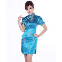 Wholesale 2015 new sexy chinese traditional qipao Chinese Women s Charming Phoenix qi pao Cheongsam Evening modern qipao dresses