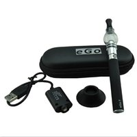 Cheap e cig EGO-T glass atomizer vape Kit Best ecig eGo-t ce4 vaporizer cleamizer kit