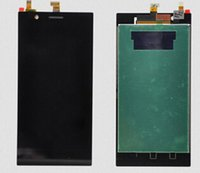 Cheap original lenovo k900 lcd display with touch glass digitizer assembly replacement