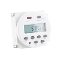 Wholesale LCD Digital Power Programmable Timer AC V A VA Time Relay Switch Brand New