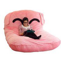 big cat beds - Dorimytrader cm X cm Big Lovely Stuffed Soft Plush Pink Dog Beanbag Bed Tatami Mattress Sofa Nice Gift For Baby DY60358