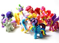 big horse toys - my little pony figure set cartoon characters toys for children pvc action figures cm rainbow horse toys in stock