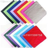 bandanna head wrap - cotton HEAD BANDANA head wrap scarf solid plain bandanna