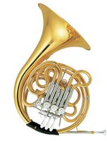 Wholesale F Bb Double Row French Horn Four Flats with case and mouthpiece Shipping time days Brass wind Musical Instrument