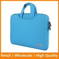 Wholesale Protable Fashion Soft Sleeve Laptop Bag Case Handlebag Pouch for Macbook Pro Air Retina inch Ultrabook Laptop Notebook
