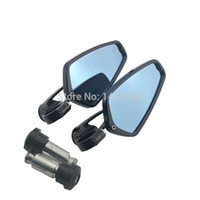 arrow billets - Universal Motorcycle quot CNC Arrow Billet Aluminum Bar End Mirrors REARVIEW BLACK For DUCATI MONSTER order lt no