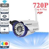 Wholesale Vstarcam C7815WIP P MP P2P Cloud Security Camera Easy Operation PNP IR Cut Bullet WIFI Wireless Outdoor IP Camera waterproof IP66