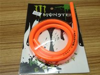 Wholesale Hot Products High quality Motorcycle Rubber Fuel Line Hose Tube for Motorcycle Universal Meter Orange Color