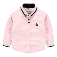 banquet clothes - style Autumn Boys British wind banquet long sleeve shirt Children s Boutique clothes