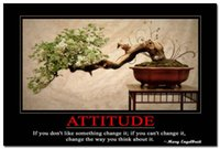 attitude quotes - Attitude Motivational Quotes Art Silk Poster x36 quot Modern Office Decor
