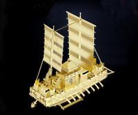 Modelos a Escala 2015 libre del envío de la nueva llegada Assemble alta calidad DIY del metal 3d panokseon Barco Modelo Diorama miniatura --el mejor regalo / decoración